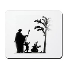 Roman Life Sculpture t-shirt Mousepad