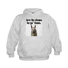 Save the drama for yo' llama Hoodie