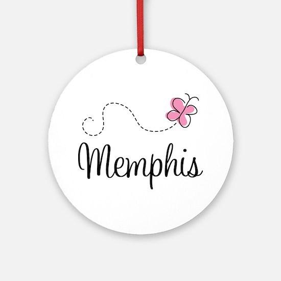 Cute Memphis Ornament (Round)
