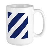 3rd infantry Large Mugs (15 oz)