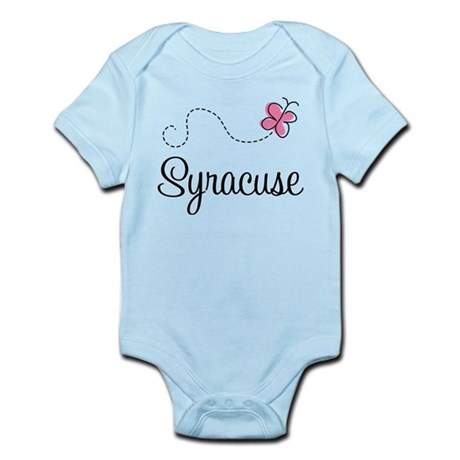 Pretty Syracuse Infant Bodysuit