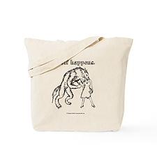 Wolf Happens. Tote Bag