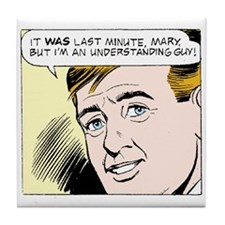 Funny Mary worth comics Tile Coaster