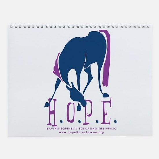 HOPE Horse Rescue 2010 Calendar