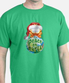 Peace On Earth Garfield T-Shirt