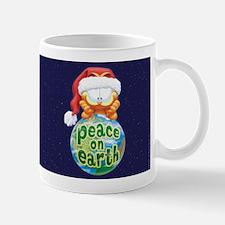 Peace On Earth Garfield Mug