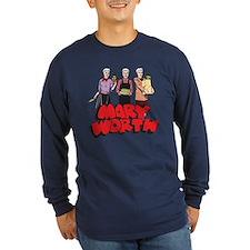 Three Marys Long Sleeve Dark T-Shirt