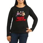 Three Marys Women's Long Sleeve Dark T-Shirt