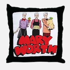 Three Marys Throw Pillow