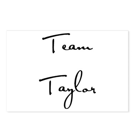 Team Taylor Postcards (Package of 8)