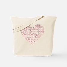 Word Up Heart Punta Cana Tote Bag