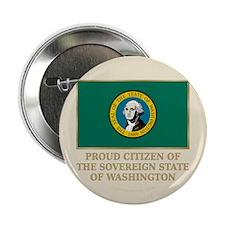 """Washington Proud Citizen 2.25"""" Button"""