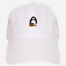 Chocolate Birthday Cake Pengu Baseball Baseball Cap