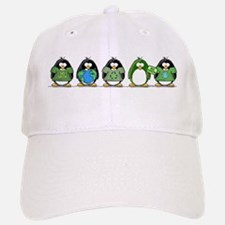 Eco-friendly Penguins Baseball Baseball Cap