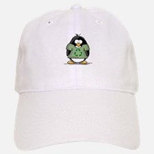 Recycle Penguin Baseball Baseball Cap