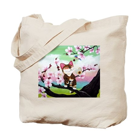 CAT ART ~ Seasons - Spring Ca Tote Bag