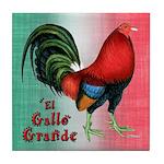 El Gallo Grande Tile Coaster