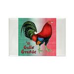 El Gallo Grande Rectangle Magnet (100 pack)