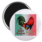"El Gallo Grande 2.25"" Magnet (100 pack)"