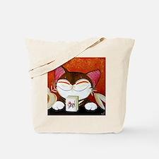 CAT ART ~ The Winning Tile Tote Bag