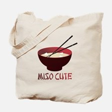 Miso Cute Tote Bag