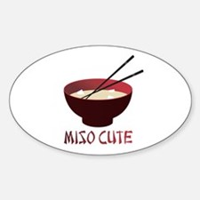 Miso Cute Oval Decal