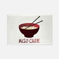 Miso Cute Rectangle Magnet (100 pack)