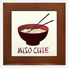 Miso Cute Framed Tile