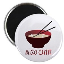 "Miso Cute 2.25"" Magnet (100 pack)"