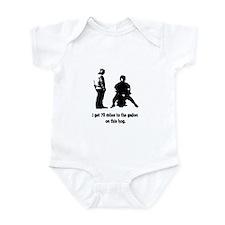 70 Miles Hog Funny Infant Bodysuit