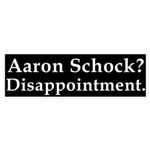 Bumper Sticker Against Aaron Schock