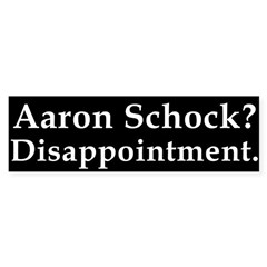 Bumper Sticker Against Aaron Schock