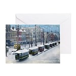 New Orleans Christmas Art Greeting Card
