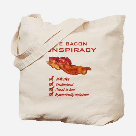 Funny Bacon Tote Bag