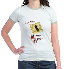 Busted Ravioli Jr. Ringer T-Shirt