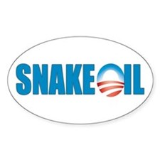 Snake Oil Oval Decal