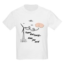 Funny Support Wind Energy T-Shirt