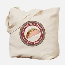 Funny Pink Taco Tote Bag