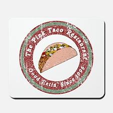 Funny Pink Taco Mousepad