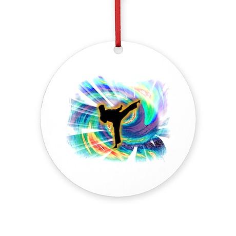 Ninja Swirl Ornament (Round)