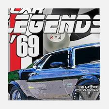 Mustang Legends 69 Tile Coaster