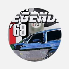 Mustang Legends 69 Ornament (Round)
