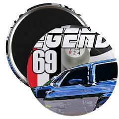 Mustang Legends 69 Magnet