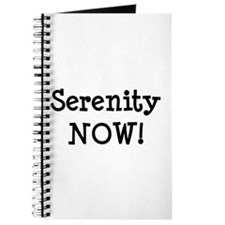 Serenity NOW! Journal