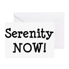 Serenity NOW! Greeting Cards (Pk of 10)