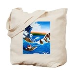 CAT ART ~ Catch me if you can Tote Bag