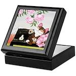 CAT ART ~ Seasons - Winter Ca Keepsake Box