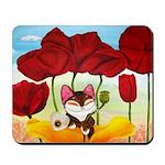 CAT ART ~ Seasons - Summer Ca Mousepad