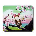 CAT ART ~ Seasons - Spring Ca Mousepad