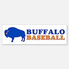 Buffalo Baseball Bumper Bumper Bumper Sticker